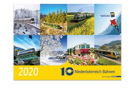Jubiläumskalender 10 Jahre Niederösterreich Bahnen