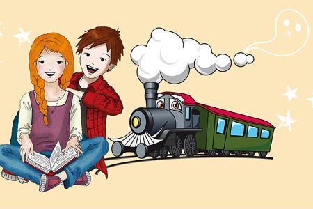 Lesen im Zug am 24. Mai 2020