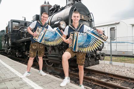 """Fanzug """"Die jungen Waldensteiner"""" am 19. Juli 2020"""
