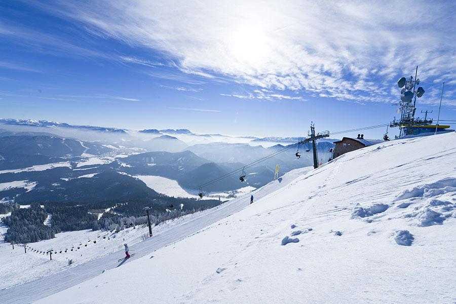 SPARKOMBI: Mit der Himmelstreppe ins Skiparadies Gemeindealpe Mitterbach