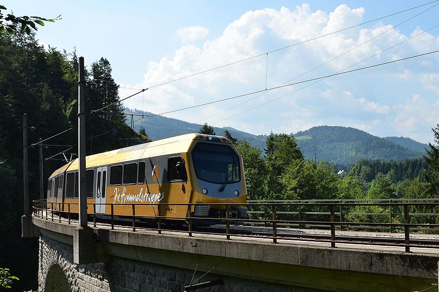 Mariazellerbahn und Bürgeralpe