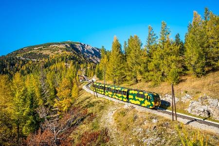 Herbstfahrten der Schneebergbahn