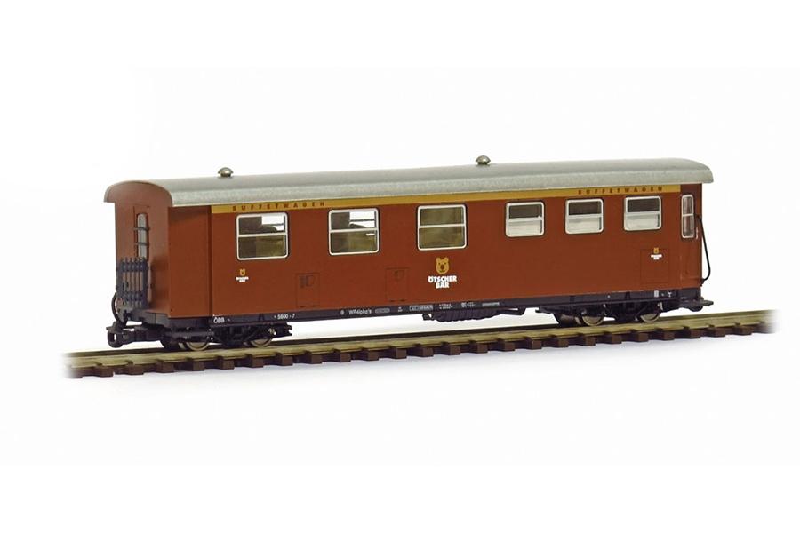 Modell Buffetwagen Ötscherbär