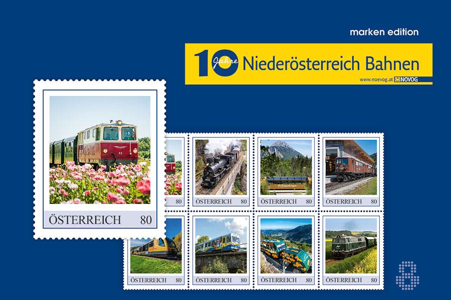 Niederösterreich Bahnen I Marken Edition 2020