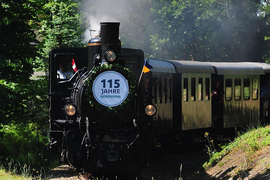 """Bahnhofsfest """"115 Jahre Gmünd - Groß Gerungs"""""""