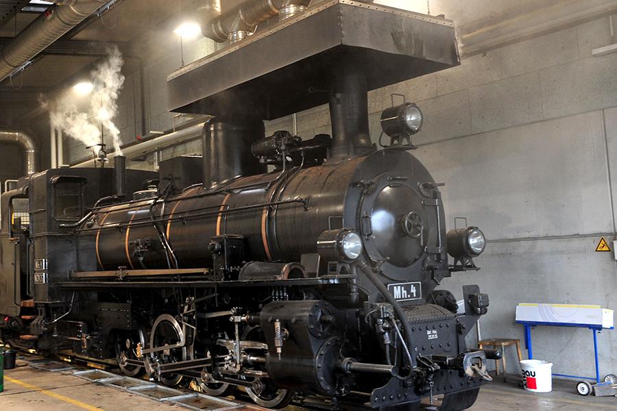 Dampflok - Bahnhof - Entdeckertour