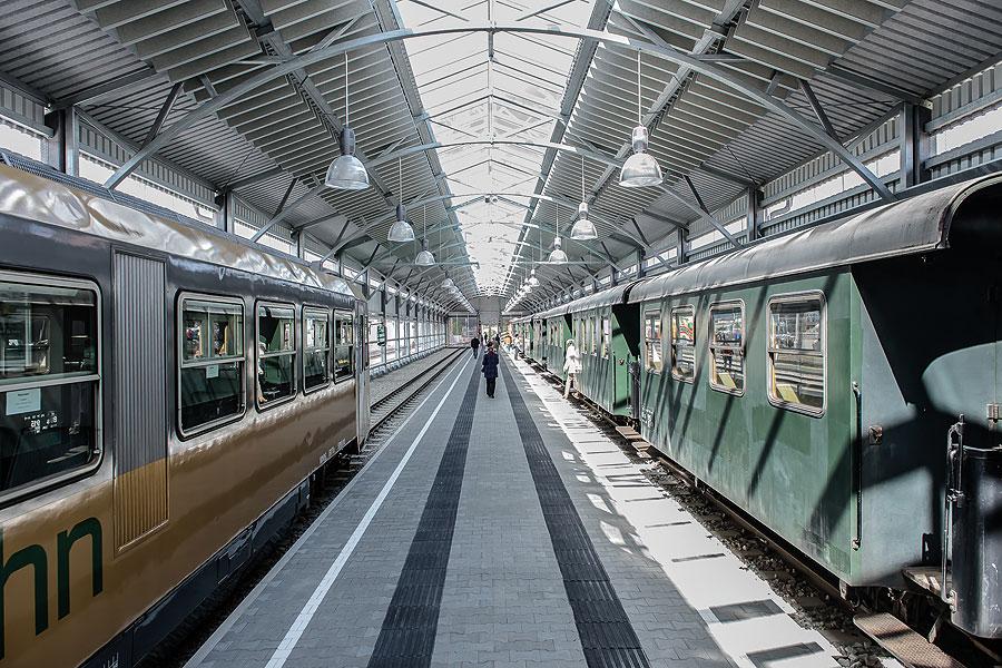 Entdeckertour mit Bahnhofsführung
